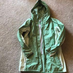 Green Columbia Omnitech Raincoat